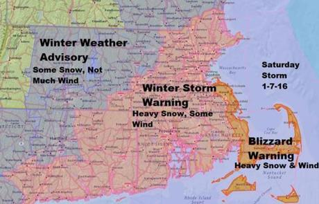 Boston area may see 6 to 12 inches of snow - The Boston Globe